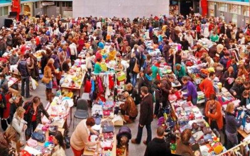 Rommelmarkt Kortrijk 12.07.2016